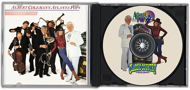 Artworks Graphics Cd Dvd Design Atlanta Pops